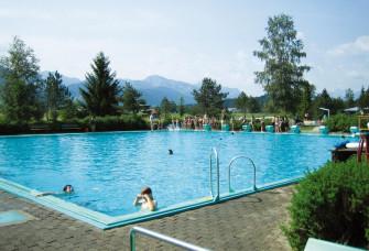 Alpenfreibad Trauchgau -  Bad mit Panoramablick