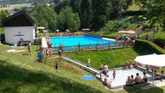 Das Berger Bad ist eines der am höchsten gelegenen Freibäder Deutschlands.